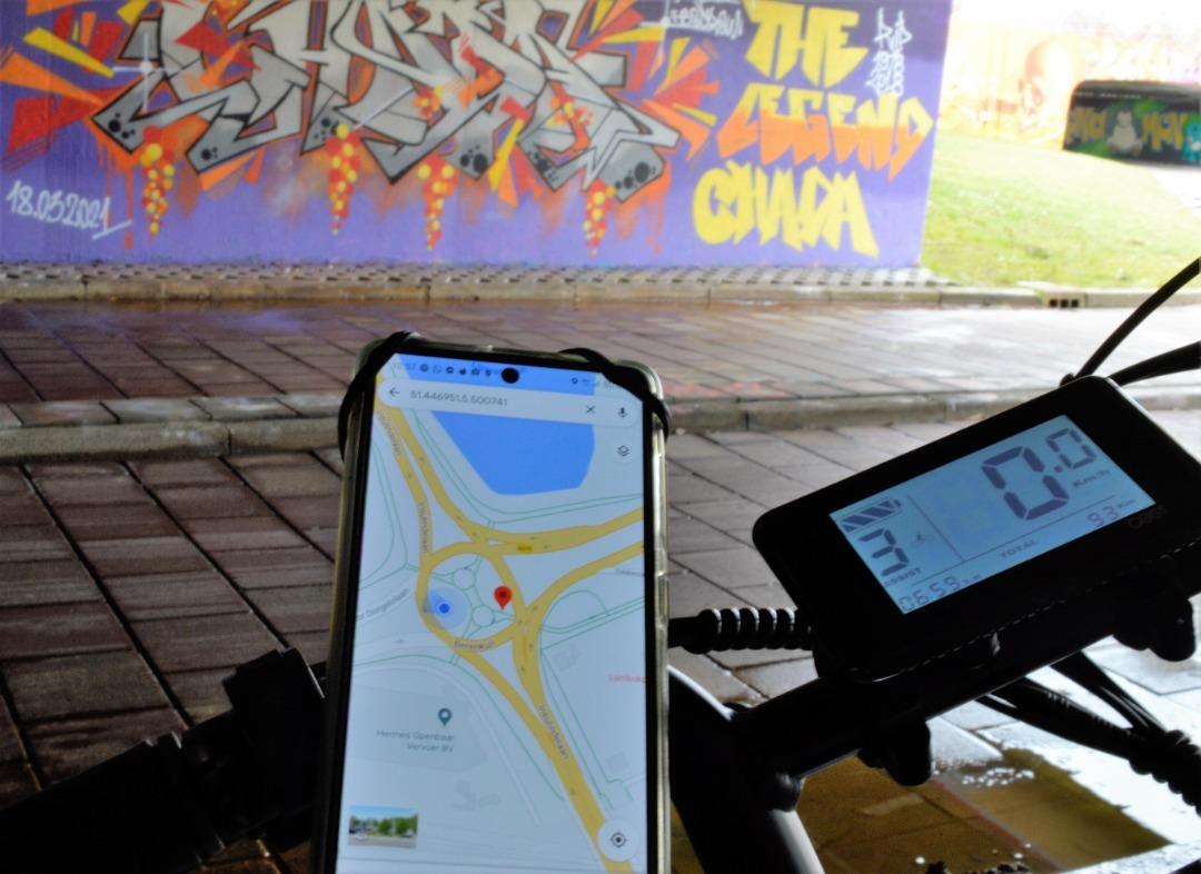 E-Fatbike Street art tour
